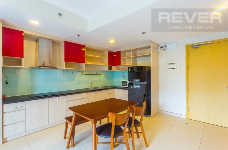Khu Vực Bếp Cho thuê căn duplex Masteri Thảo Điền 2PN, view hồ bơi, đầy đủ nội thất