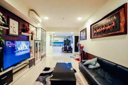 Bán căn hộ Sunrise City 3PN, tầng cao, đầy đủ nội thất, view Quận 7