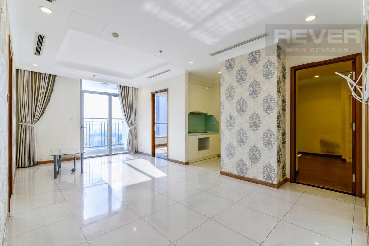 Phòng Khách Căn hộ Vinhomes Central Park tầng cao, tháp Landmark 3, 3PN, nội thất cơ bản
