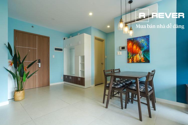 Phòng khách căn hộ NEW CITY THỦ THIÊM Căn hộ New City Thủ Thiêm 2 phòng ngủ tầng thấp tháp BB đầy đủ nội thất