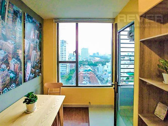 Phòng Làm Việc Cho thuê căn hộ RiverGate Residence 1PN, tầng thấp, tháp B, đầy đủ nội thất, view sông Sài Gòn
