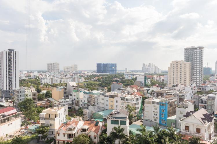 View Ban Công Bán căn hộ An gia Skyline 2PN, tầng thấp, đầy đủ nội thất, view hồ cảnh quan