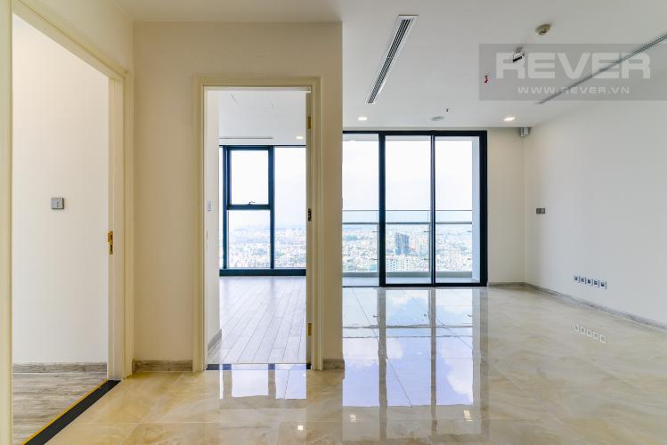 Phòng Khách Cho thuê căn hộ tầng cao Vinhomes Golden River, 3PN, view sông Sài Gòn