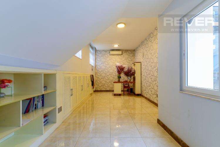 Phòng Học Tập Cho thuê biệt thự Khu dân cư An Phú, hướng Đông Nam, thiết kế sang trọng, đầy đủ nội thất