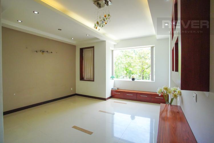 Phòng Ngủ 1 Tầng 1 Cho thuê nhà phố 4 tầng đường 19, Q2, đầy đủ nội thất, view Landmark 81