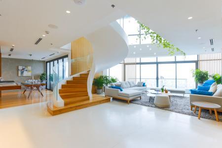 Duplex City Garden tầng cao B2 thiết kế sang trọng, nội thất cao cấp