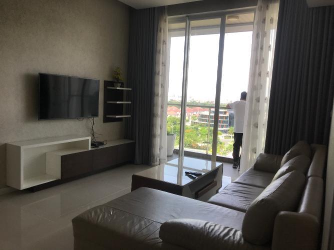 Căn hộ Sarimi Sala Đại Quang Minh tầng thấp, đầy đủ nội thất.