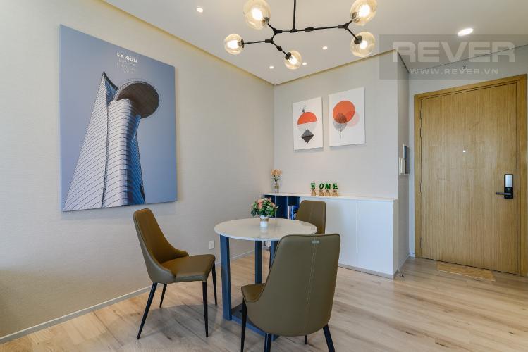 Phòng Ăn Căn hộ Vista Verde 1 phòng ngủ tầng cao T1 đầy đủ nội thất