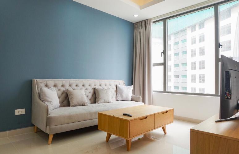 Cho thuê căn hộ The Tresor 2 phòng ngủ, tháp TS1, diện tích 73m2, đầy đủ nội thất, hướng Đông Nam