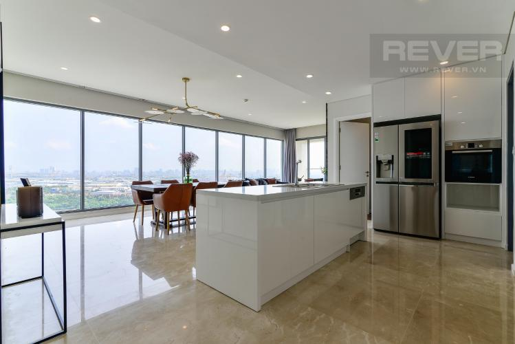 Phòng Khách 1 Cho thuê căn hộ Diamond Island - Đảo Kim Cương 3PN, tầng cao, đầy đủ nội thất, view sông yên tĩnh