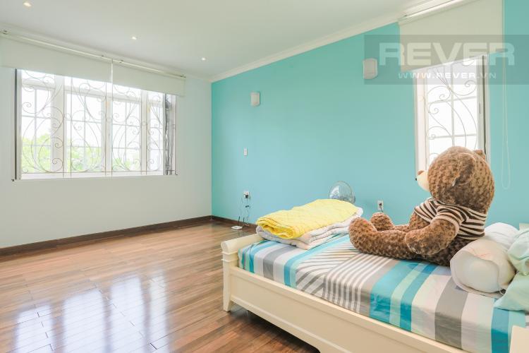 Phòng Ngủ Tầng 1 Nhà phố đường Lê Văn Lương, Quận 7, 3 tầng, nội thất đầy đủ, sổ đỏ chính chủ