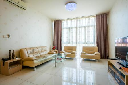 Căn hộ The Vista An Phú 3 phòng ngủ tầng thấp T2 nội thất đầy đủ
