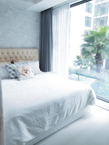 phòng ngủ căn hộ Gateway Thảo Điền Căn hộ Gateway Thảo Điền đầy đủ nội thất, view nội khu.