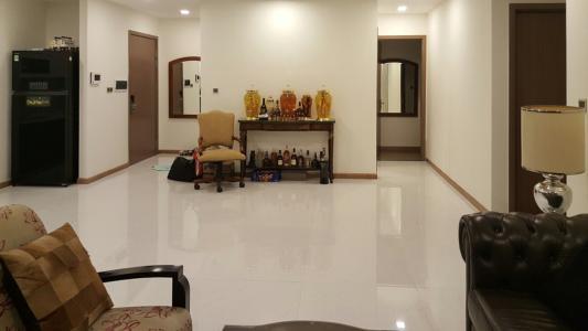 Bán căn hộ Vinhomes Central Park 4PN, tháp Park 1, nội thất cơ bản, view trực diện sông Sài Gòn