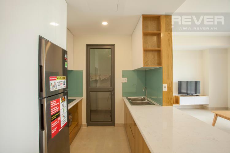 Phòng bếp Căn góc Masteri Thảo Điền tầng cao hướng Tây