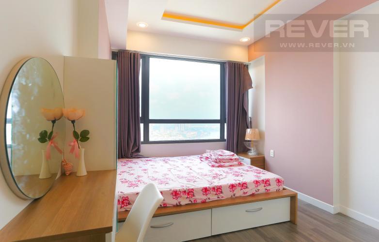 Phòng Ngủ 1 Căn hộ Masteri Thảo Điền tầng cao, 2PN, đầy đủ nội thất, view sông
