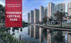 Danh sách chi tiết các cửa hàng đang hoạt động tại Vinhomes Central Park
