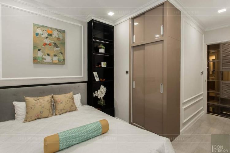 Phòng ngủ Vinhomes Golden River, Quận 1 Căn hộ Vinhomes Golden River hướng Tây Nam, view thoáng mát.