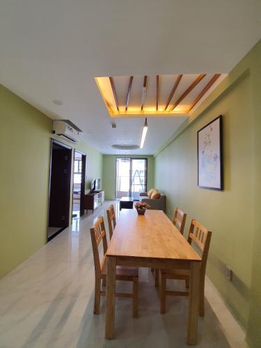 Nội thất Căn hộ Saigon South Residence Căn hộ Saigon South Residence tầng trung, đầy đủ nội thất