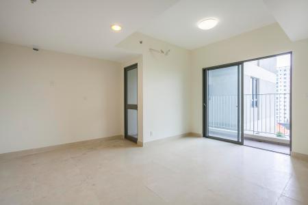 Căn hộ Masteri Thảo Điền tầng trung T1 2 phòng ngủ không nội thất
