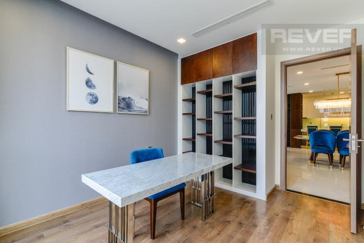 Phòng Ngủ 3 Căn góc Vinhomes Central Park 4 phòng ngủ tầng cao P2 full nội thất