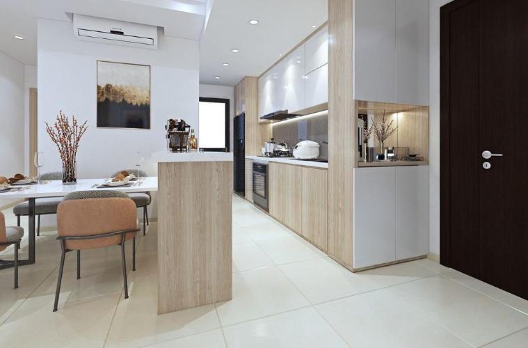 Phòng bếp Phú Mỹ Hưng Midtown, Quận 7 Căn hộ Phú Mỹ Hưng Midtown view thành phố, nội thất đầy đủ.