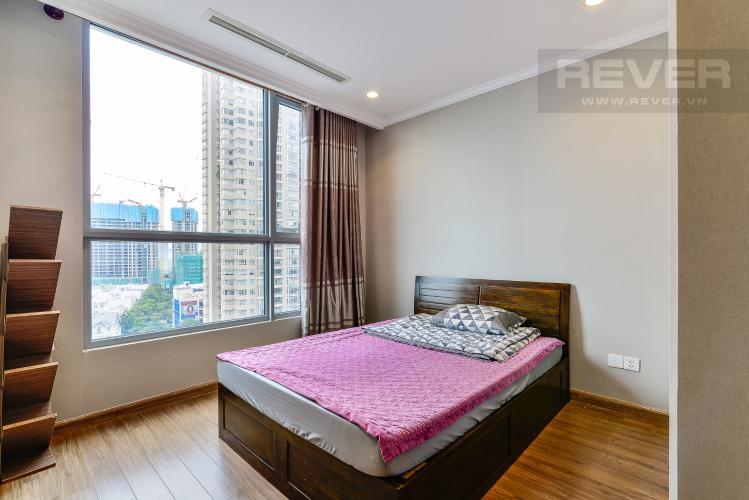 Phòng Ngủ Bán và cho thuê căn hộ Vinhomes Central Park tầng trung, 1PN, đầy đủ nội thất