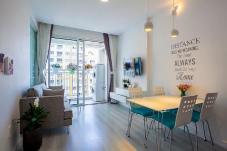 Căn hộ Tropic Garden 2 phòng ngủ tầng trung A2 nội thất đầy đủ