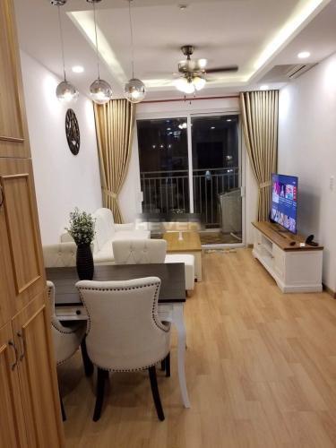 Phòng khách Sunrise Riverside, Nhà Bè Căn hộ Sunrise Riverside tầng trung, nội thất tiện nghi.
