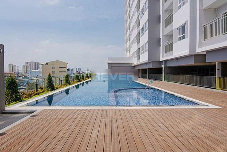 Hồ bơi Moonlight Boulevard, Bình Tân Căn hộ Moonlight Boulevard tầng cao, hướng Nam view thành phố.