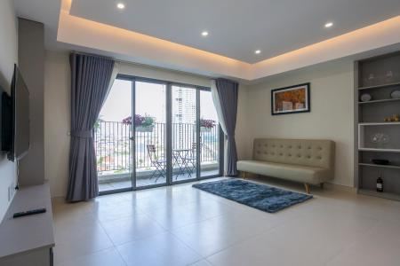 Căn góc Masteri Thảo Điền 3 phòng ngủ tầng trung T5 view sông