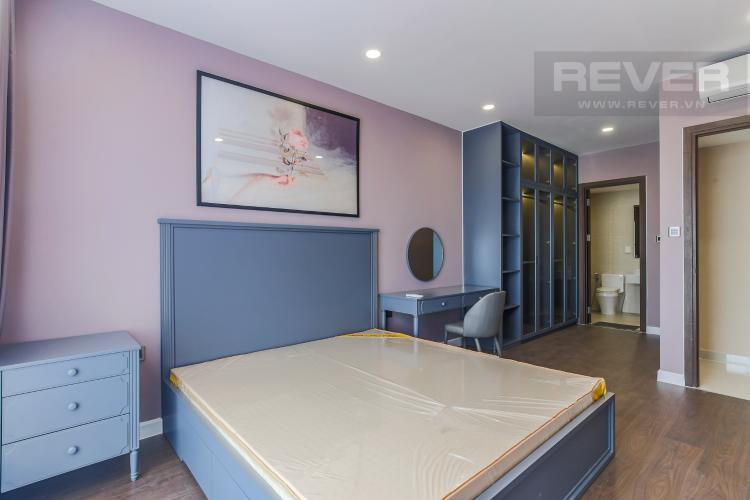 Phòng Ngủ 1 Cho thuê căn hộ Saigon Royal 2PN, tầng cao, đầy đủ nội thất, view sông thoáng mát