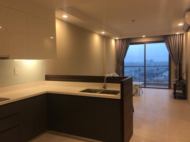 Khu vực bếp The Gold View, Quận 4 Căn hộ The Gold View tầng cao, view cầu Nguyễn Văn Cừ.
