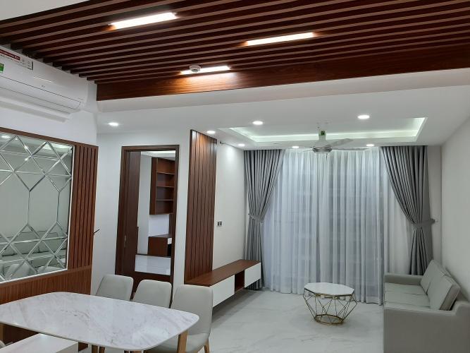 Phòng khách Phú Mỹ Hưng Midtown Căn hộ Phú Mỹ Hưng Midtown nội thất đầy đủ, view nội khu.