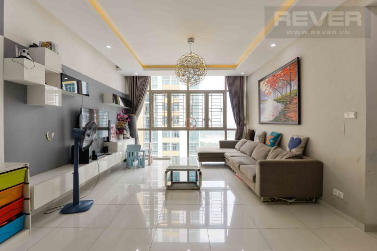 Phòng Khách Bán căn hộ The Vista An Phú 3 phòng ngủ tầng trung tháp T1, đầy đủ nội thất, không gian yên tĩnh