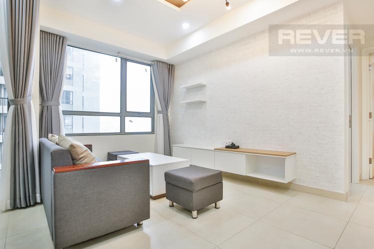 Phòng Khách Căn góc Masteri Thảo Điền 2 phòng ngủ tầng trung tòa T2