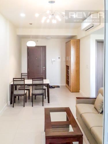 Phòng Khách Cho thuê căn hộ Lexington Residence 1PN, tháp LA, đầy đủ nội thất, view đại lộ Mai Chí Thọ