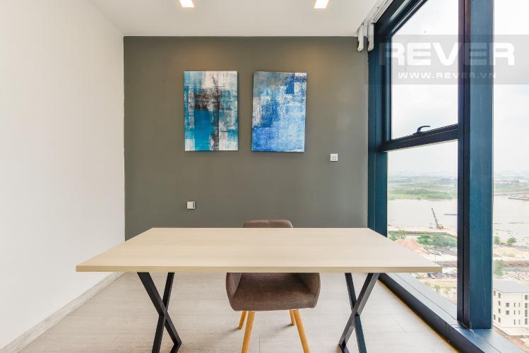 Phòng làm việc Căn hộ Vinhomes Golden River 2 phòng ngủ tầng trung A2 view sông