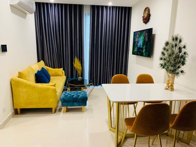 phòng khách căn hộ Vinhomes Grand Park Căn hộ Vinhomes Grand Park có 1 phòng đa năng, không có nội thất.