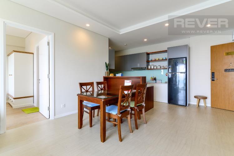 Phòng Ăn & Bếp Cho thuê căn hộ Đảo Kim Cương 2PN tầng trung tháp Bora Bora, đầy đủ nội thất, view sông yên tĩnh