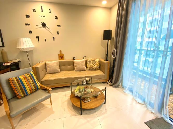 Phòng khách căn hộ The Gold View Căn hộ The Gold View quận 4, nội thất đầy đủ view thoáng mát