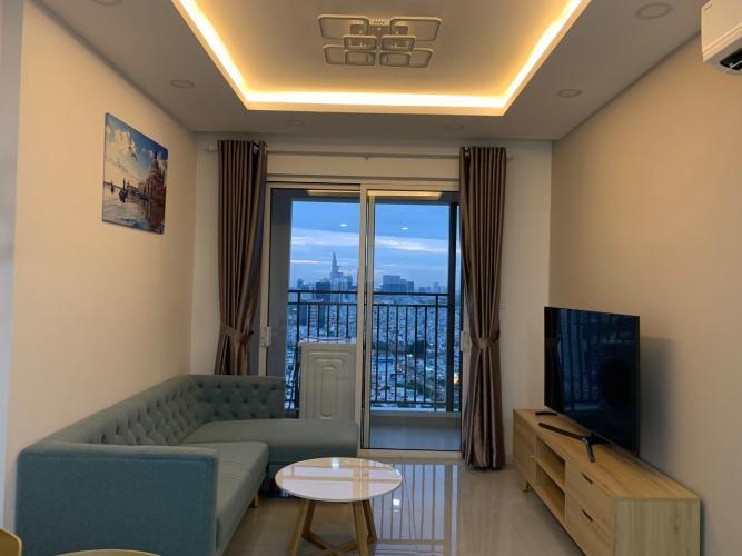 Phòng khách , Căn hộ Sunrise Cityview , Quận 7 Căn hộ Sunrise City View tầng 25 view thành phố thoáng mát, đầy đủ nội thất.