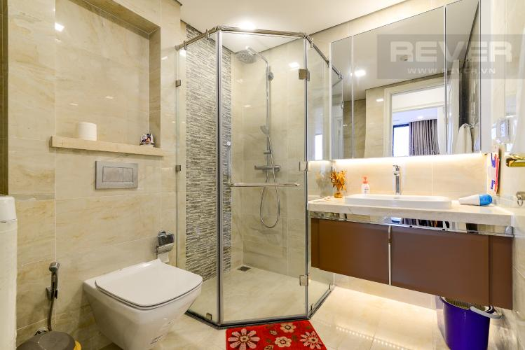 Phòng Tắm Cho thuê căn hộ Vinhomes Golden River 1PN, tầng cao, tháp The Aqua 1, đầy đủ nội thất, view sông Sài Gòn thoáng mát
