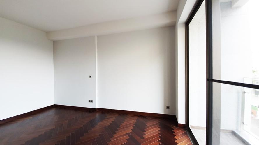 Phòng ngủ Phú Mỹ Hưng Midtown Căn hộ Phú Mỹ Hưng Midtown tầng 9, nội thất cơ bản.