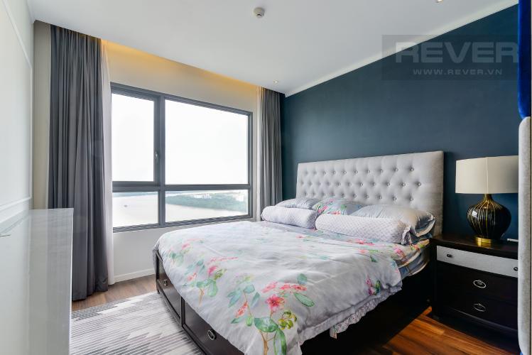Phòng Ngủ 1 Cho thuê căn hộ Diamond Island - Đảo Kim Cương 3PN, tháp Bora Bora, đầy đủ nội thất, view sông thoáng đãng