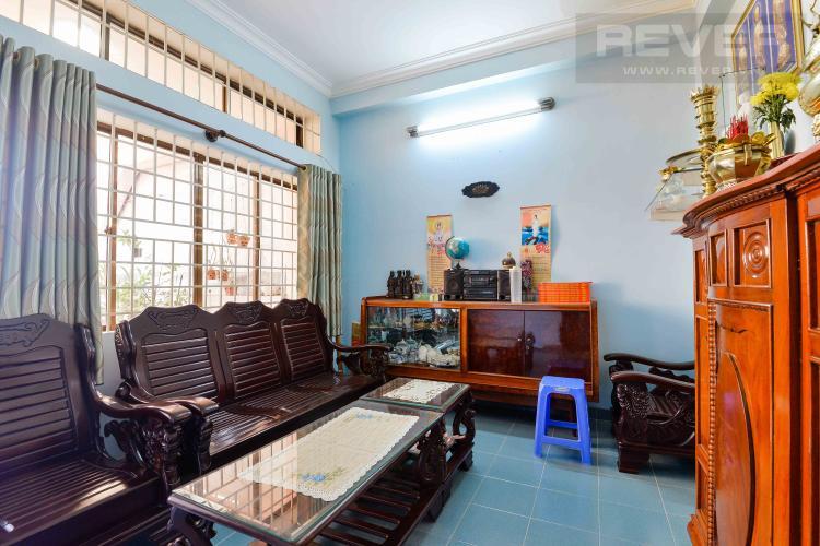 Phòng Khách Tầng 2 Cho thuê nhà đường Quốc Hương, 2 lầu 4PN 3WC, hướng Đông Bắc, đầy đủ nội thất