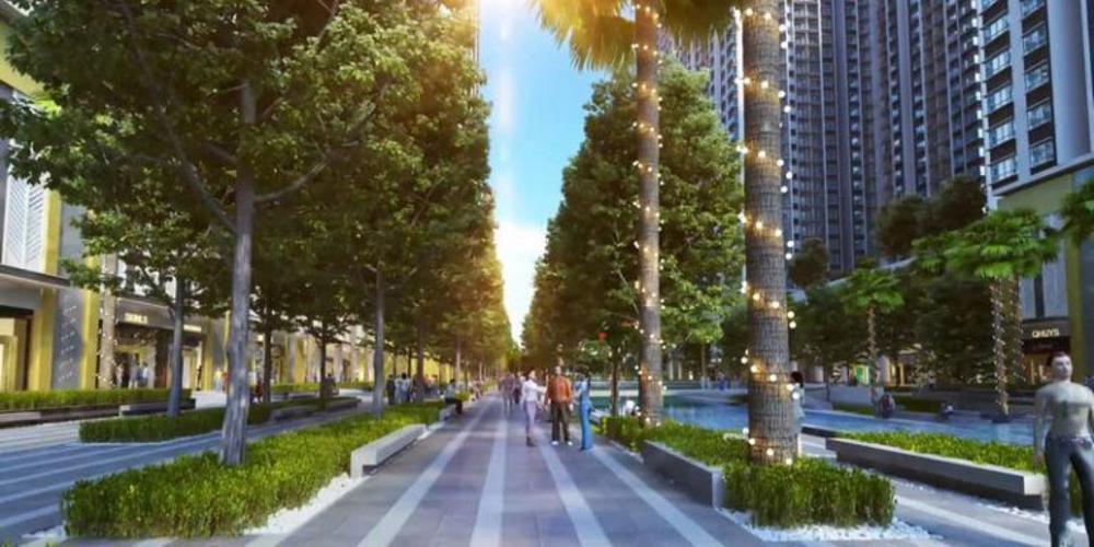 tiện ích dự án Q7 Saigon Riverside Căn hộ Q7 Saigon Riverside 2 phòng ngủ, view đường Đào Trí.