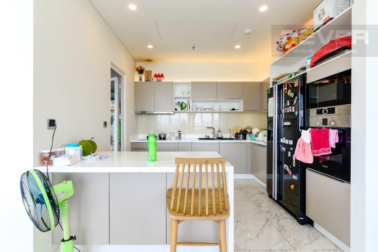 Bếp Bán hoặc cho thuê căn hộ Sarica Sala Đại Quang Minh 3PN, đầy đủ nội thất, view công viên và hồ bơi thoáng mát