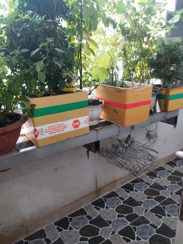 Ban công chung cư Nguyễn Quyền, Bình Tân Căn hộ chung cư Nguyễn Quyền nội thất cơ bản, view thoáng mát.