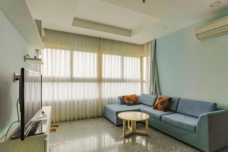 Căn hộ Dragon Hill Residence and Suites 2 phòng ngủ tầng cao tháp B nội thất có sẵn